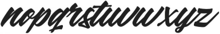 Kindness otf (400) Font LOWERCASE