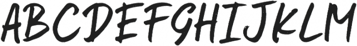 Kindson Rough otf (400) Font UPPERCASE