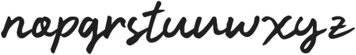 Kindson otf (400) Font LOWERCASE