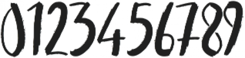 Kinemon One ttf (400) Font OTHER CHARS