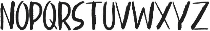 Kinemon One ttf (400) Font UPPERCASE