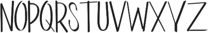 Kinemon Three ttf (400) Font UPPERCASE