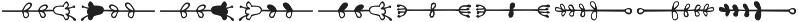 Kinfolk Pro Flowers otf (400) Font OTHER CHARS
