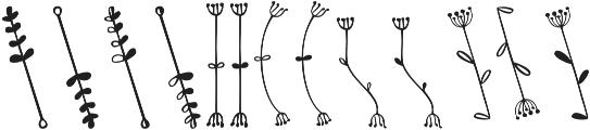 Kinfolk Pro Flowers otf (400) Font LOWERCASE