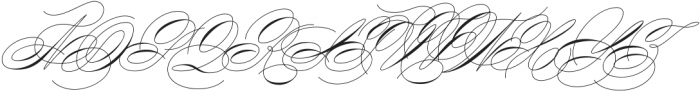 King Bloser One Bold otf (700) Font UPPERCASE