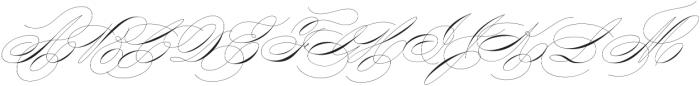 King Bloser One otf (400) Font UPPERCASE