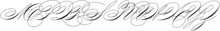 King Bloser Two Bold otf (700) Font UPPERCASE
