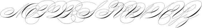 King Bloser Two otf (400) Font UPPERCASE