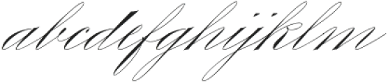 King Bloser Two otf (400) Font LOWERCASE