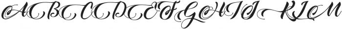 King Lionel otf (400) Font UPPERCASE