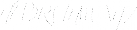 King Size Dots otf (400) Font UPPERCASE