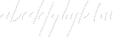 King Size Dots otf (400) Font LOWERCASE