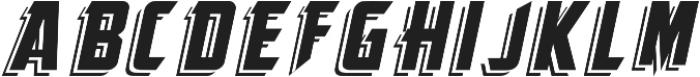 KingFisherITALIC KingFisher otf (400) Font UPPERCASE