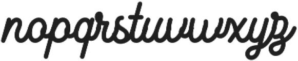 Kingbirds Bold otf (700) Font LOWERCASE