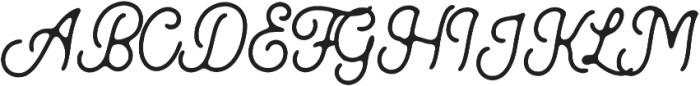 Kingbirds Rough otf (400) Font UPPERCASE