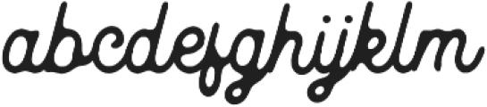Kingbirds Rough otf (400) Font LOWERCASE
