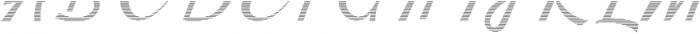 Kingfisher Half Engraved otf (400) Font UPPERCASE