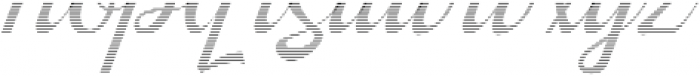 Kingfisher Half Engraved otf (400) Font LOWERCASE