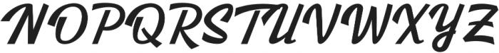 Kingfisher otf (400) Font UPPERCASE