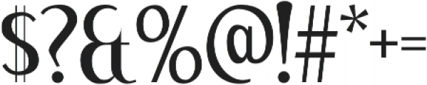 Kingfishers Regular otf (400) Font OTHER CHARS