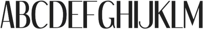 Kingfishers Regular otf (400) Font UPPERCASE
