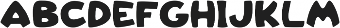 Kingofcartoons ttf (400) Font UPPERCASE