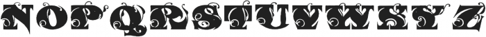 Kings Initials otf (400) Font LOWERCASE
