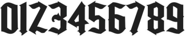 Kingshead Alternate Gothic Regular otf (400) Font OTHER CHARS
