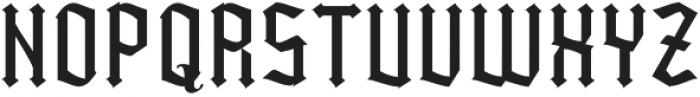 Kingshead Light Light otf (300) Font UPPERCASE