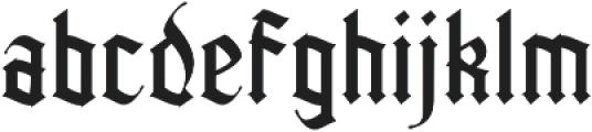 Kingshead Light Light otf (300) Font LOWERCASE