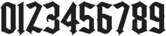 Kingshead Regular otf (400) Font OTHER CHARS