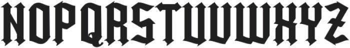 Kingshead Regular otf (400) Font UPPERCASE