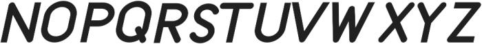 Kingsland Italic otf (400) Font UPPERCASE