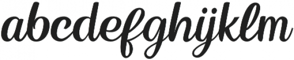 Kingsman otf (400) Font LOWERCASE