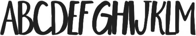Kinley otf (400) Font LOWERCASE