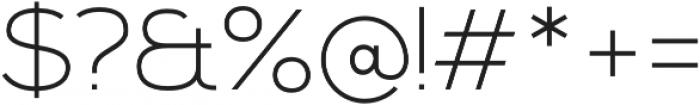 Kinship Sans 100 otf (100) Font OTHER CHARS