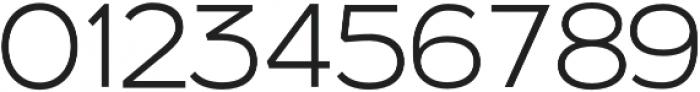 Kinship Sans 200 otf (200) Font OTHER CHARS