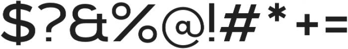 Kinship Sans 400 otf (400) Font OTHER CHARS