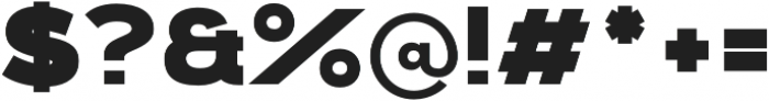Kinship Sans 900 otf (900) Font OTHER CHARS