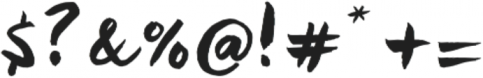 Kira otf (400) Font OTHER CHARS