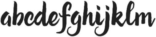 Kira otf (400) Font LOWERCASE