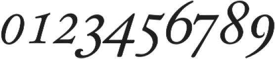 KirimomiSwash Italic otf (400) Font OTHER CHARS