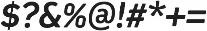 Kiro otf (700) Font OTHER CHARS