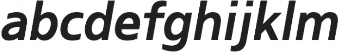 Kita Bold Italic otf (700) Font LOWERCASE