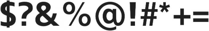 Kita Bold otf (700) Font OTHER CHARS