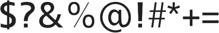 Kita otf (400) Font OTHER CHARS