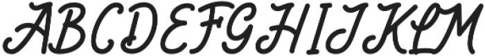 Kitabisa otf (400) Font UPPERCASE