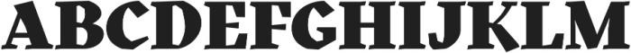 Kitsch Black otf (900) Font UPPERCASE