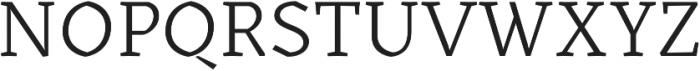 Kitsch Text Book otf (400) Font UPPERCASE