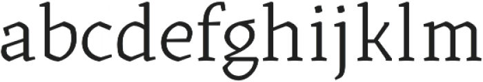 Kitsch Text Book otf (400) Font LOWERCASE